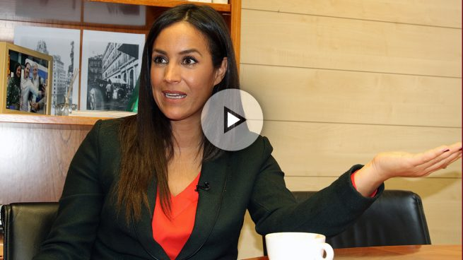Begoña Villacís: «Apoyar la investidura de Rajoy no fue un plato de buen gusto»