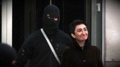 La etarra Elena Beloki, detenida por la Ertzaintza.