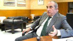 Iñaki Arriola durante la entrevista (Foto: Efe).