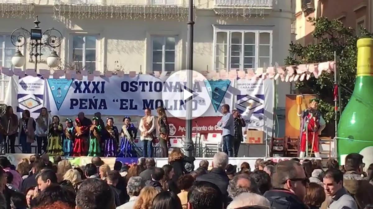 Las ninfas de Cádiz, este fin de semana en la apertura del concurso de chirigotas.