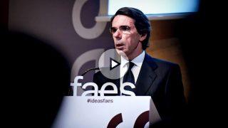 El expresidente del Gobierno, José María Aznar.