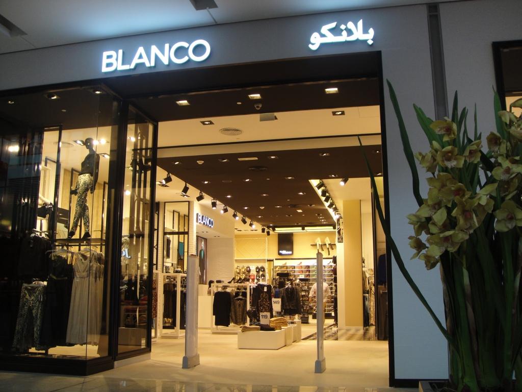 Blanco Store en Dubai (Foto- Facebook)