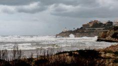 Litoral afectado por el temporal recientemente.