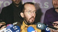 El secretario de Organización Estatal de Podemos, Pablo Echenique (Foto: Efe)