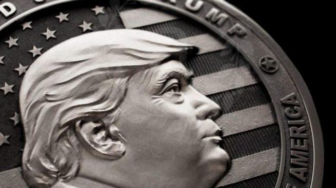 Crean en Rusia una moneda conmemorativa de Donald Trump que vale 10.000 dólares