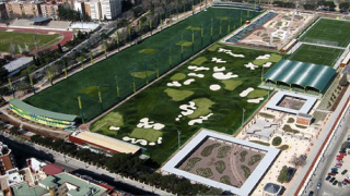 Vista aérea de las instalaciones. (Foto: Madrid)