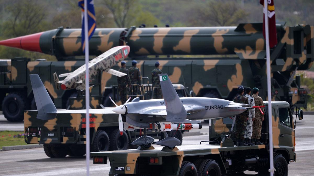 Misiles de la armada pakistaní (Foto: AFP)