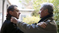 Juan Carlos Monedero y Jorge Verstrynge. (Foto: EFE)