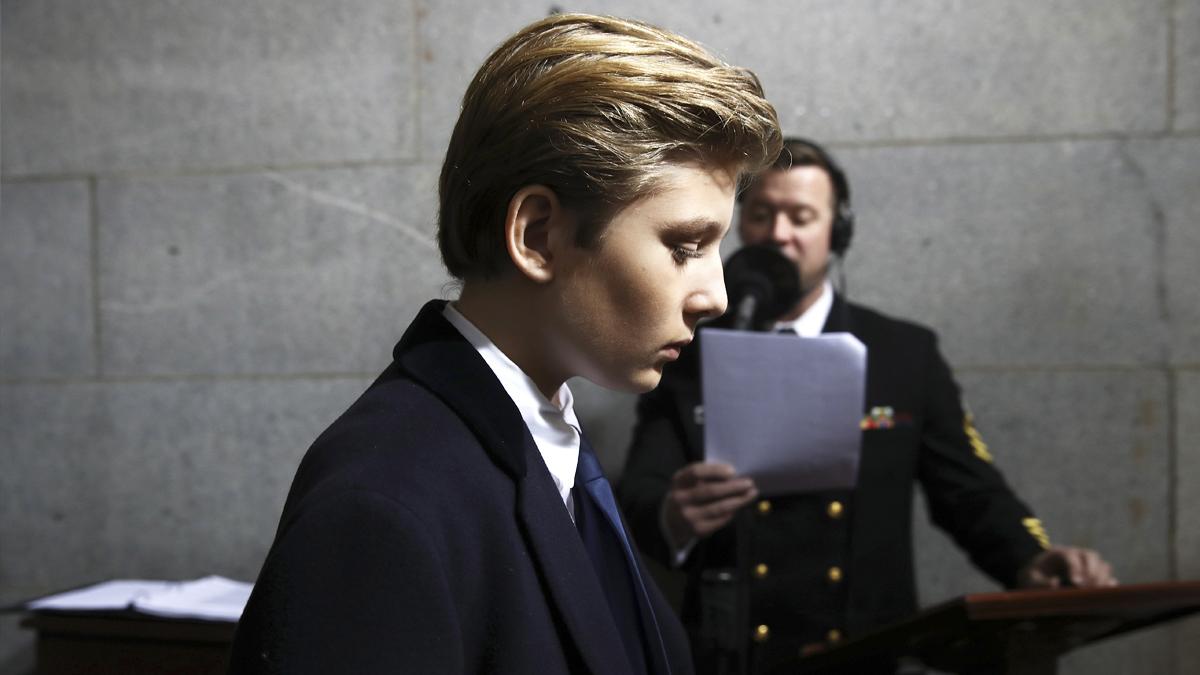 Barron Trump. (Foto: AFP)