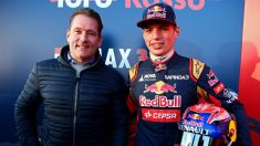 Max Verstappen ha señalado a su padre Jos como su verdadero ídolo. (Getty)