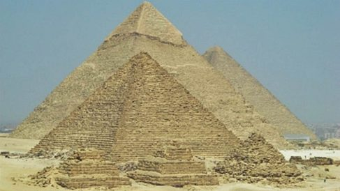 pirámides egipto como construyeron