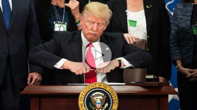 Trump ya ha firmado la orden para construir el muro entre EEUU y México
