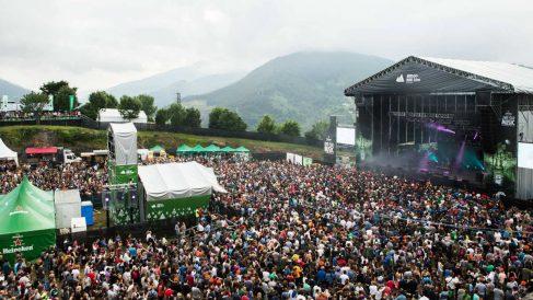 Kobetamendi se llena de vida durante el Bilbao BBK Live, un festival con proyección internacional y que se ha convertido en un referente de los festivales españoles. Foto: BBK Live