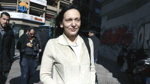 La diputada y cofundadora de Podemos Carolina Bescansa. (EFE)