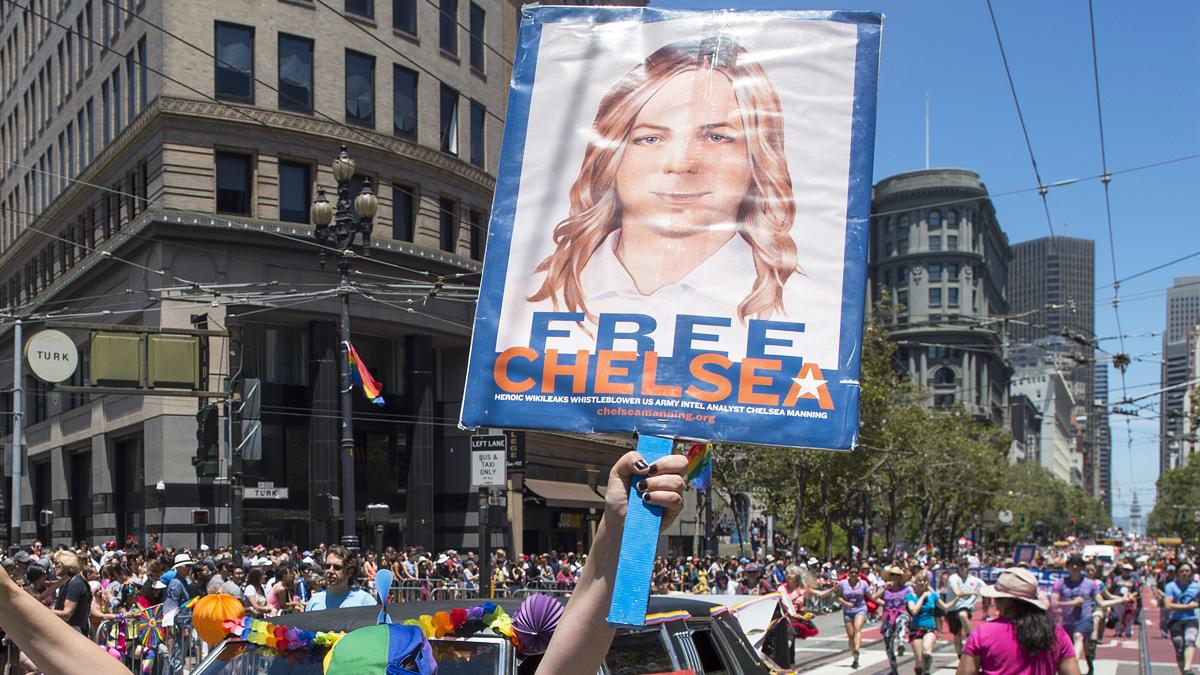 Chelsea Manning. (Foto: AFP)