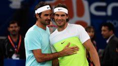 Federer sueña con reencontrarse con Nadal en la final. (AFP)