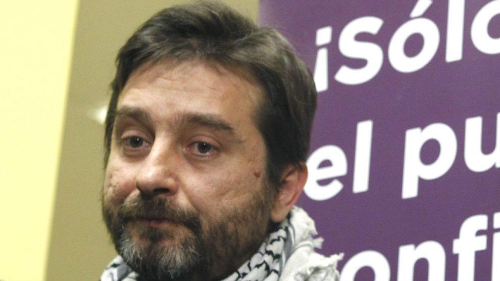El secretario de Relaciones con la Sociedad Civil de Podemos, Rafael Mayoral (Foto: EFE)