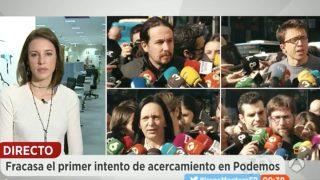 La diputada de Podemos, Irene Montero en 'Espejo Público' (Foto: Antena 3)