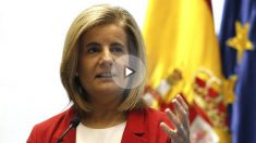La ministra de Empleo y Asuntos Sociales en funciones, Fátima Báñez. (Foto: EFE)