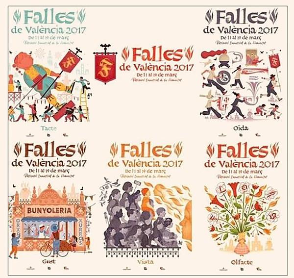 ... Valencia 2017 anunciaron los ganadores del cartel de Fallas. Los