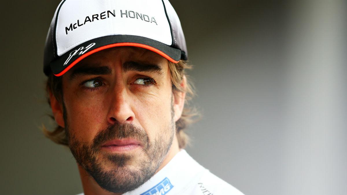 Fernando Alonso. (Getty)