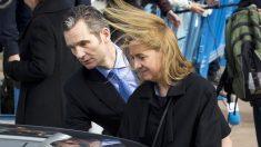 Iñaki Urdangarin y la infanta Cristina. (Foto: AFP)