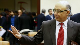 El ministro de Hacienda, Cristóbal Montoro (Foto: EFE).