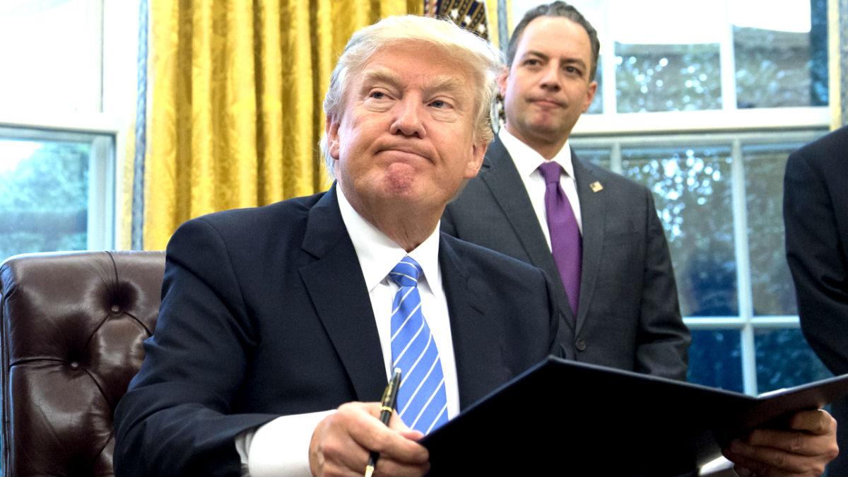 Trump en una reciente imagen (Foto: AFP).