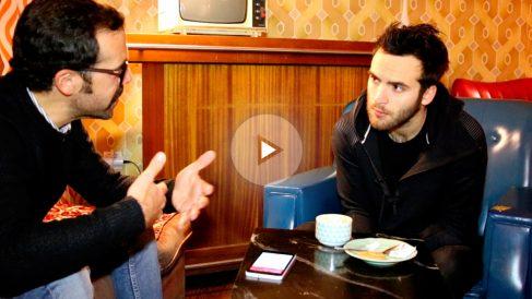 Ricardo Gómez, durante la entrevista con OKDIARIO. (Foto: Marcos Rivera)