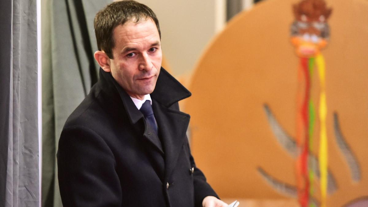 Benoit Hamon fue el candidato socialista en las presidenciales en Francia (Foto: AFP)