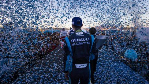 Sebastien Buemi, piloto de Fórmula E suizo en el Circuito de Marruecos (Foto: Getty)