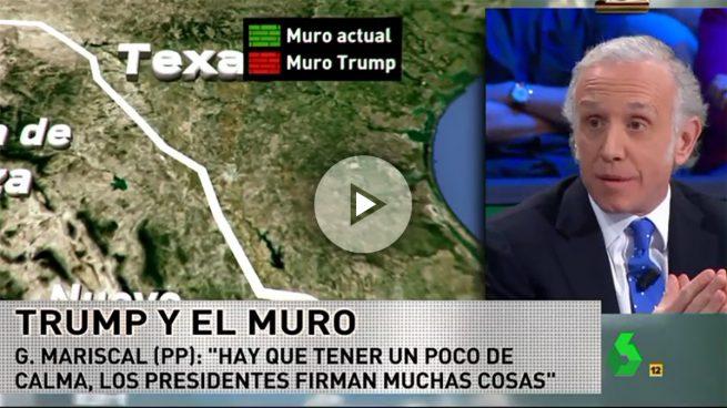 Inda: «Trump es un chalado y el muro entre EEUU y México es una memez»