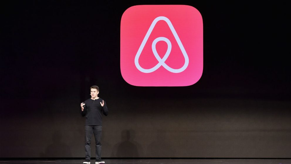 El CEO de Airbnb, Brian Chesky (Foto: GETTY).