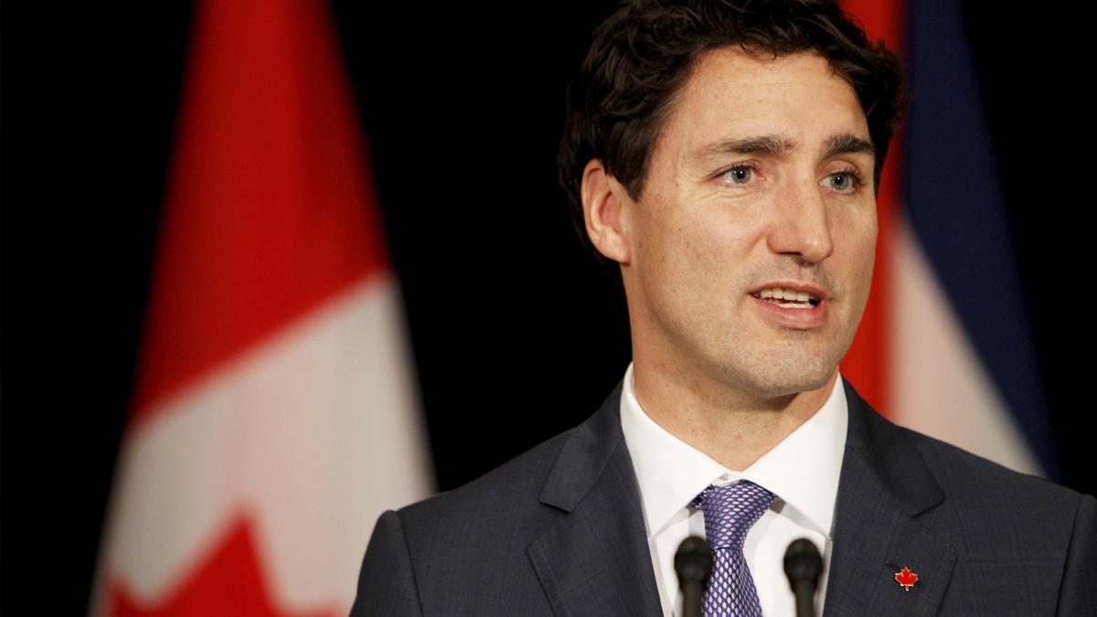 Justin Trudeau, primer ministro de Canadá. (Foto: AFP)