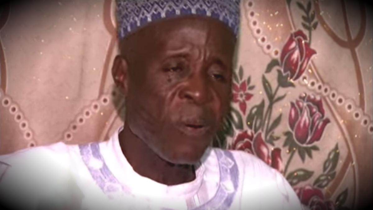 Muhamadu Bello Masaba, un nigeriano que ha muerto a los 93 años dejando 86 viudas y 170 huérfanos.