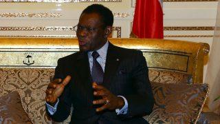 El dictador guineano, Teodoro Obiang (Foto: GETTY).