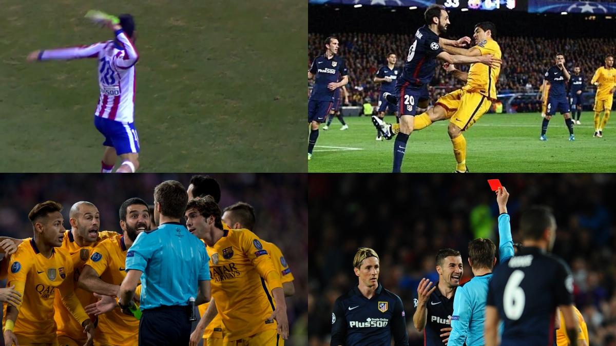 La polémica de los Atlético de Madrid vs FC Barcelona