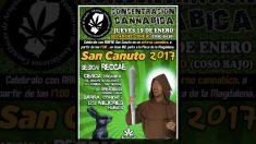Cartel oficial de la fiesta de San Canuto. (Foto: OKD)
