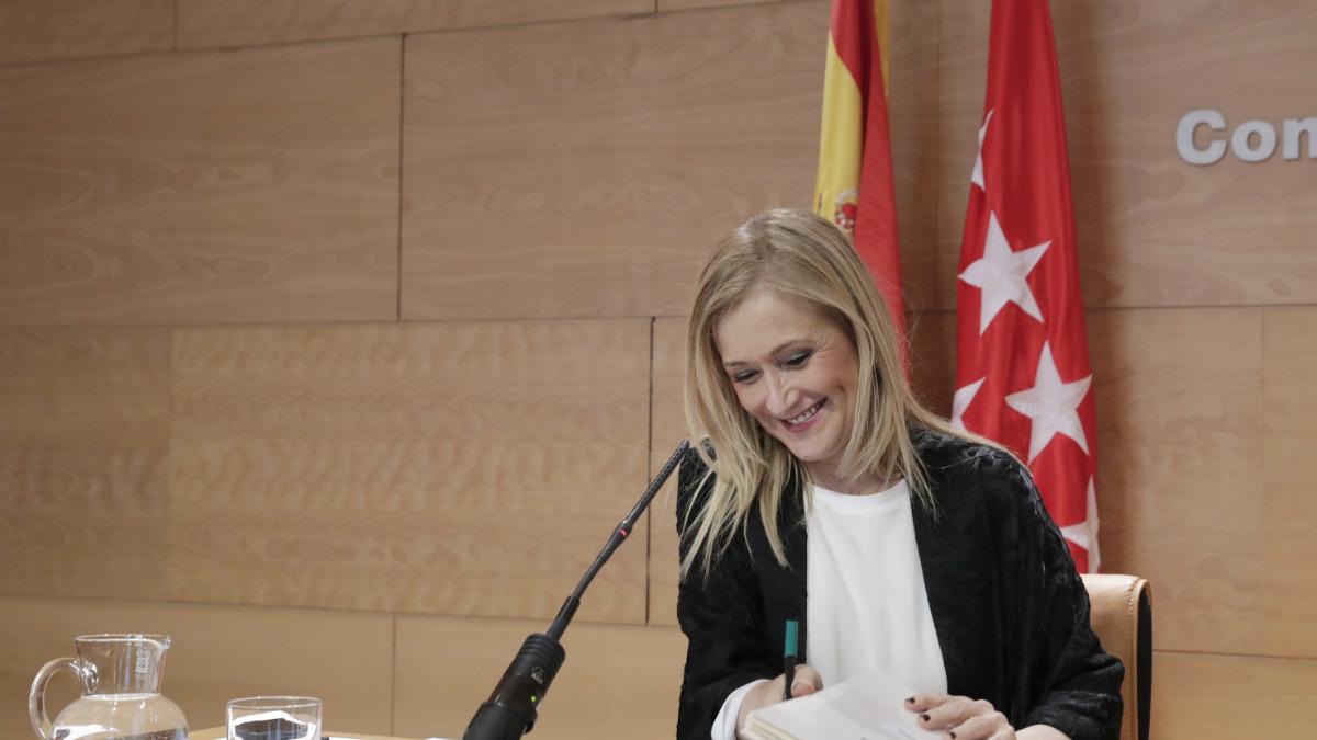 Cristina Cifuentes. (Foto: CAM)