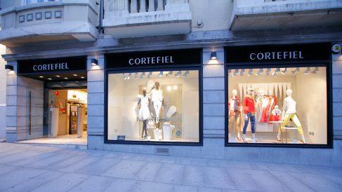 Tienda de Cortefiel en la calle Serrano de Madrid. Foto: Grupo Cortefiel