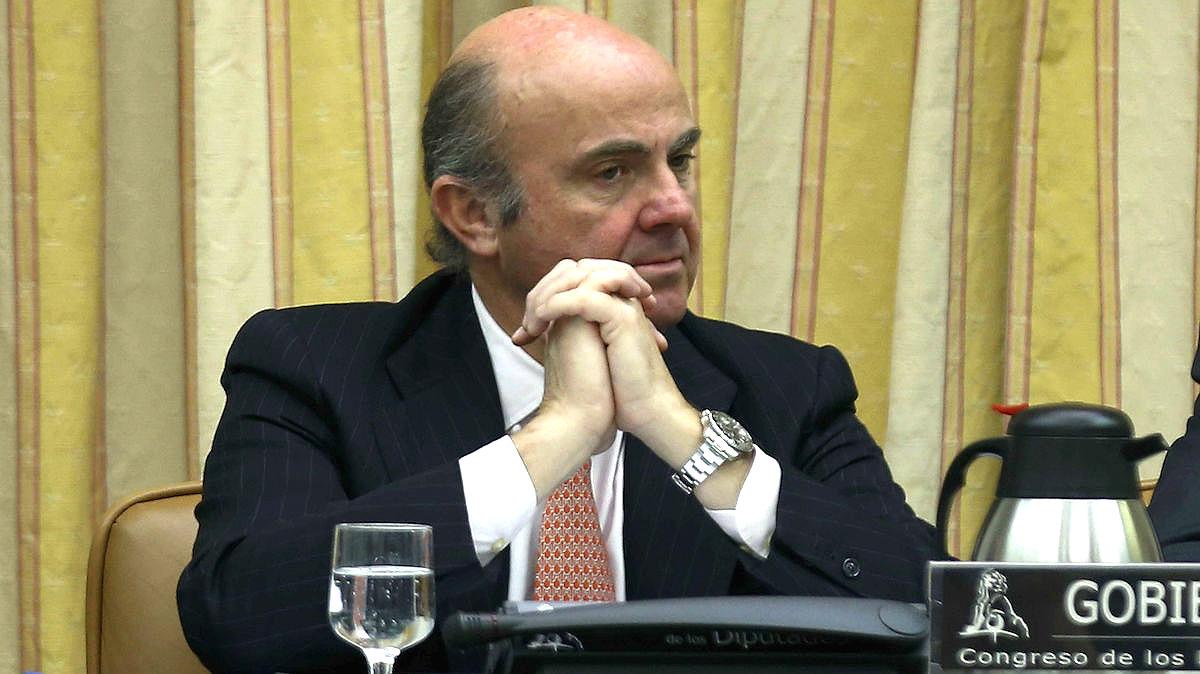 El ministro de Economía, Luis de Guindos. (Fuente: EFE)