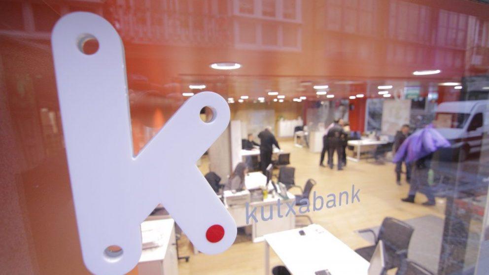 Imagen de una oficina de Kutxabank.