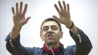 El fundador de Podemos Juan Carlos Monedero (Foto: Efe)