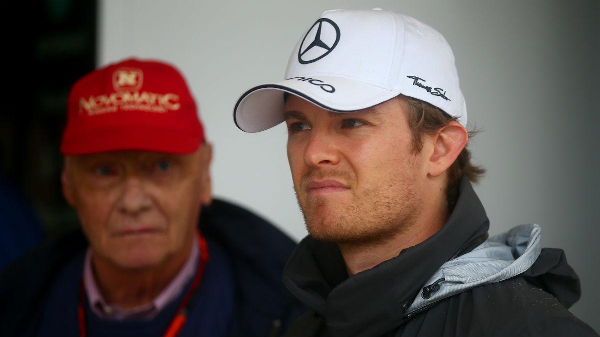 Niki Lauda considera que Mercedes no echará de menos a Nico Rosberg. (Getty)