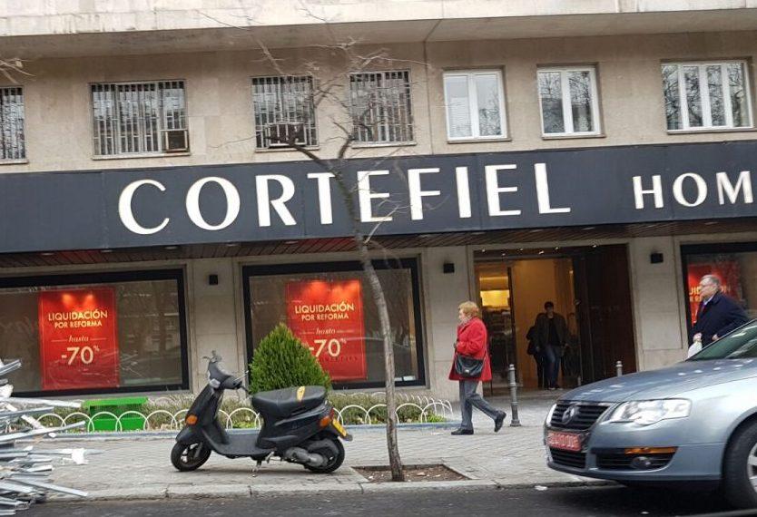 Tienda Cortefiel del Paseo de la Castellana, 180, Madrid. Foto. OKDIARIO