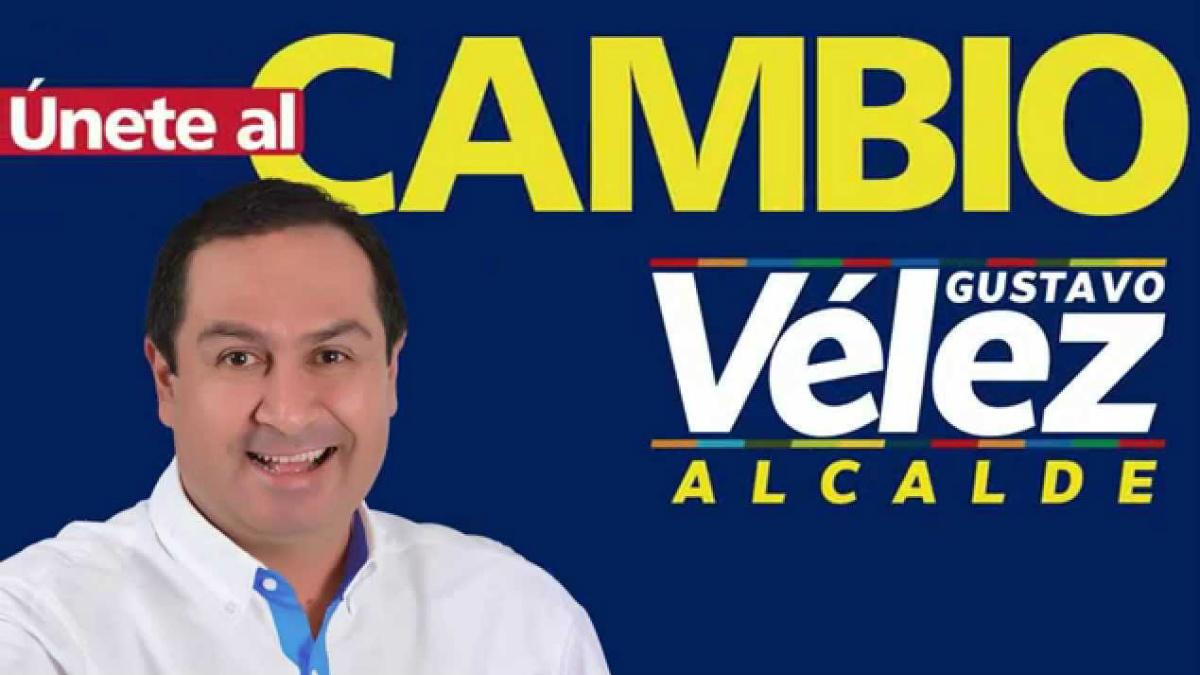 El alcalde colombiano del «marihuanódromo», Gustavo Vélez.