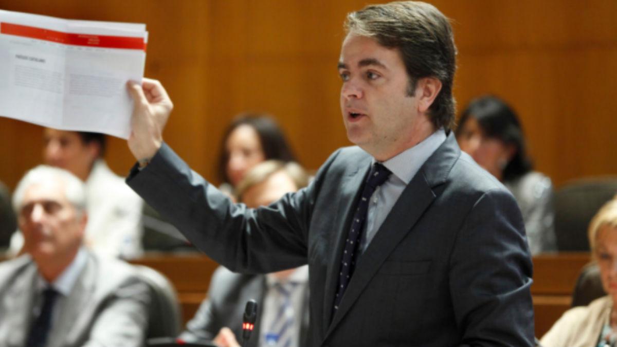 El secretario de Estado para las Administraciones Territoriales, Roberto Bermúdez de Castro. (Foto: Youtube)