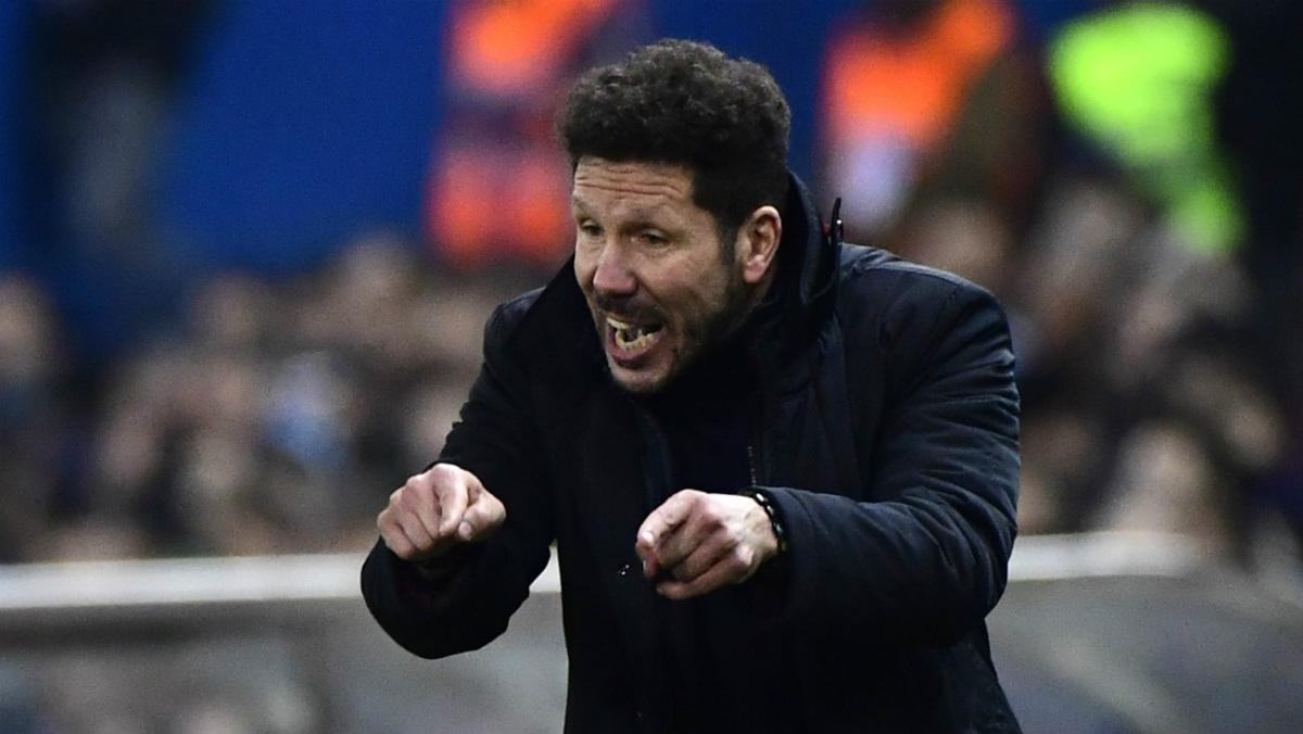 Simeone confía en darle la vuelta a la eliminatoria. (AFP)