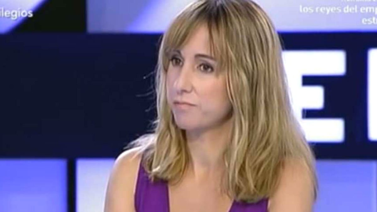 La directora del diario podemita 'Público', Ana Pardo de Vera.