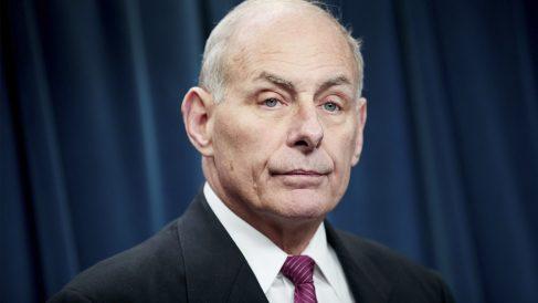 El nuevo jefe de Gabinete de la Casa Blanca, John Kelly (Foto: AFP).